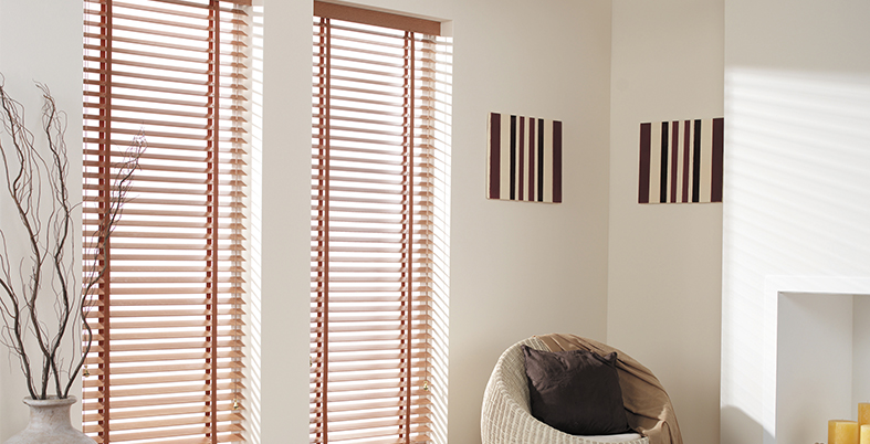 wooden slat Venetian Blinds
